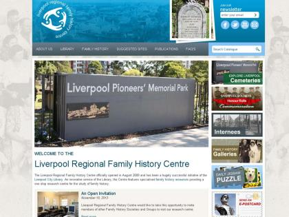 Liverpool Regional Family History Centre