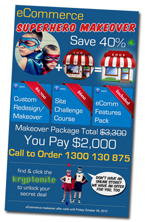 Newsletter makeover offer