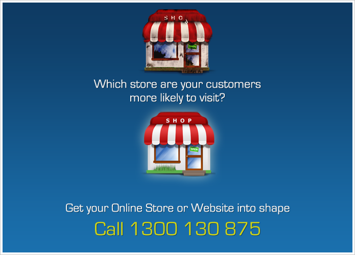 Which store or website are customers likely to walk into?