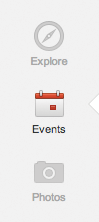 Google+ Events allow you to create events before inviting users to attend your event