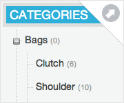 Use SiteSuite CMS to create shop categories