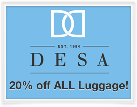 DESA Handbags and Luggage Special Offer - SiteSuite Members Market