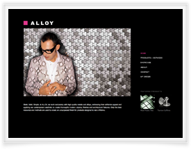 Alloy website design and shopping cart software by SiteSuite