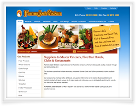 Farmer Jo's website design and shopping cart software by SiteSuite