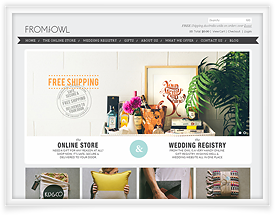 From the Owl website design and shopping cart software by SiteSuite