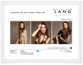 Peter Lang website design and shopping cart software by SiteSuite