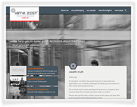 Varria Zest website content management system and email newsletter software by SiteSuite