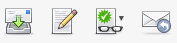 Icons in the new webmail program